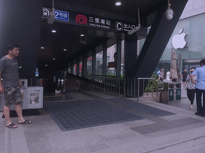 安徽合肥地铁站
