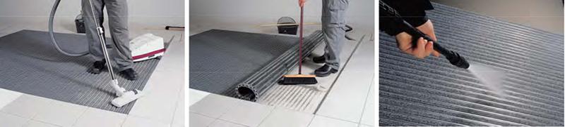 TM铝合金地垫清洁保养