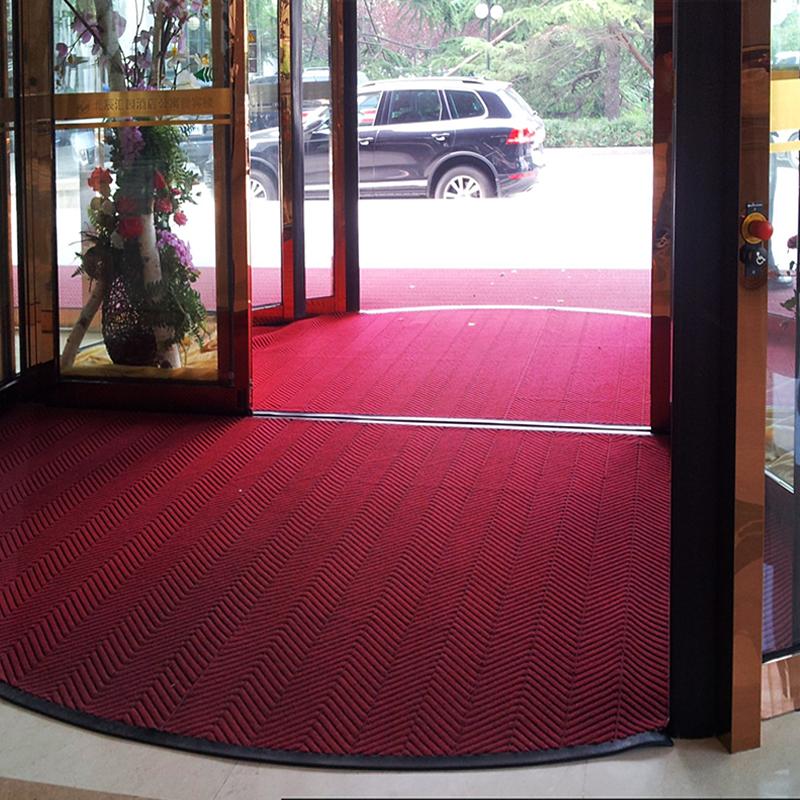 酒店旋转门地垫